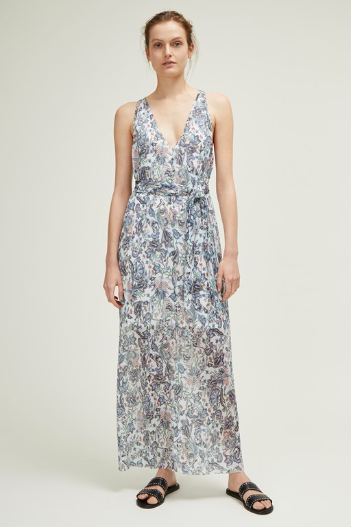 juno sea flower maxi dress