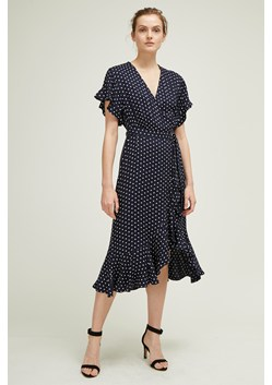 Dana Dot Wrap Dress