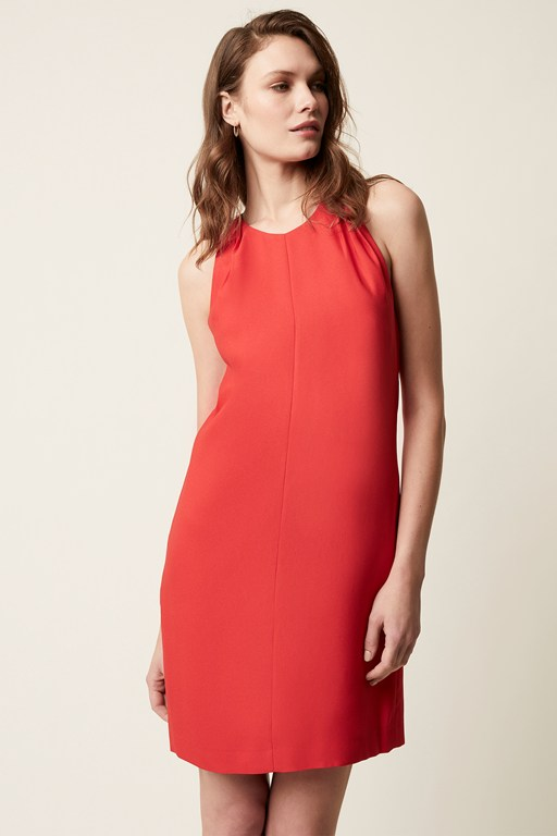 claude luxe sleeveless dress