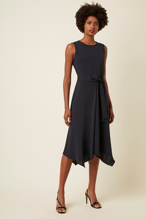 easy drape hanky hem dress