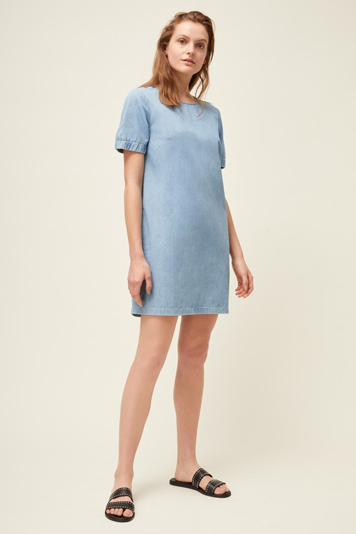 dara denim dress