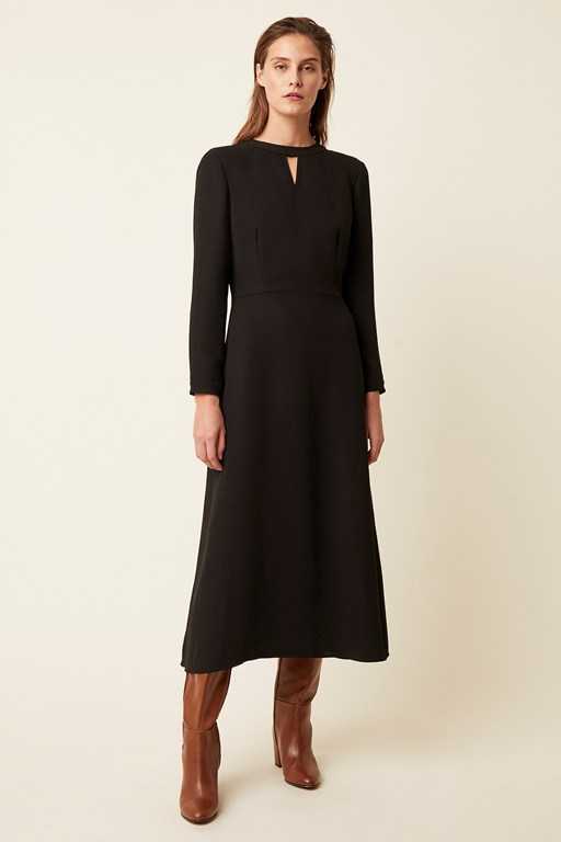wentworth tailoring long sleeve dress