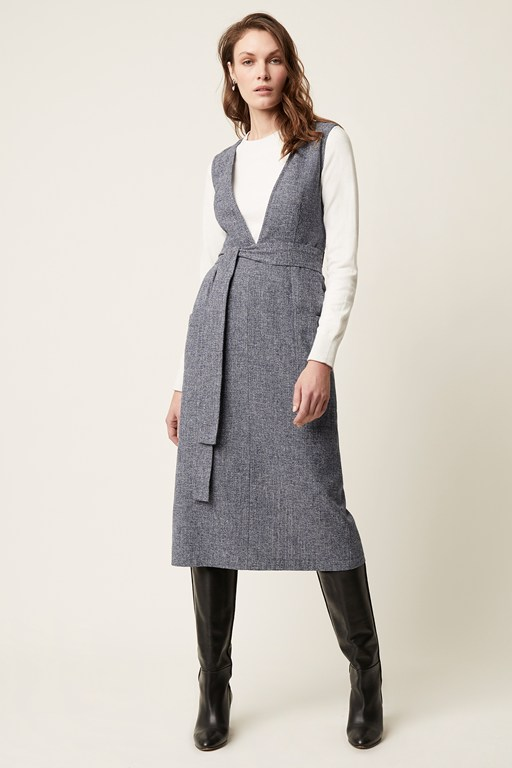 wilma tweed dress