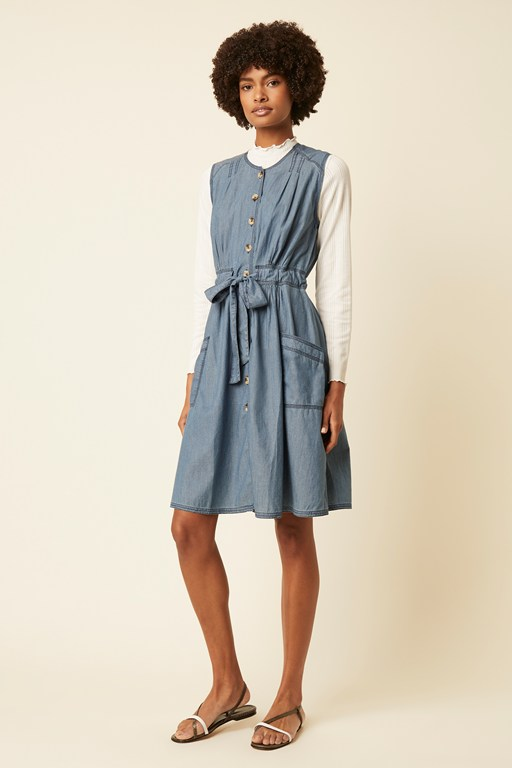 luca denim dress