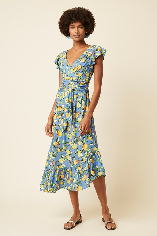 sorrento lemon dress