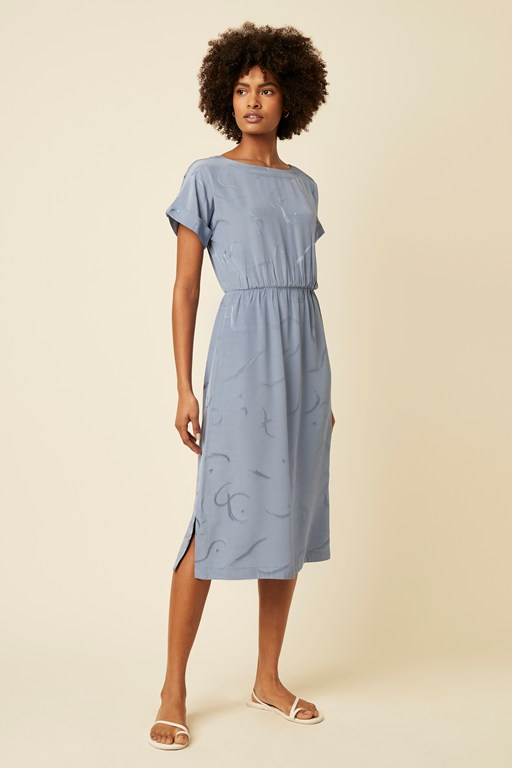 brooke blend tie back dress