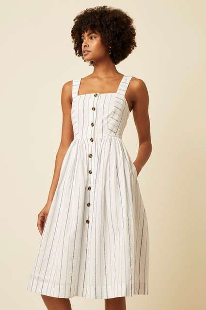 Kyra Stripe Dress