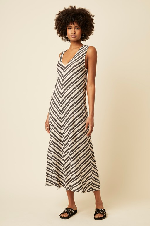 lumi stripe dress