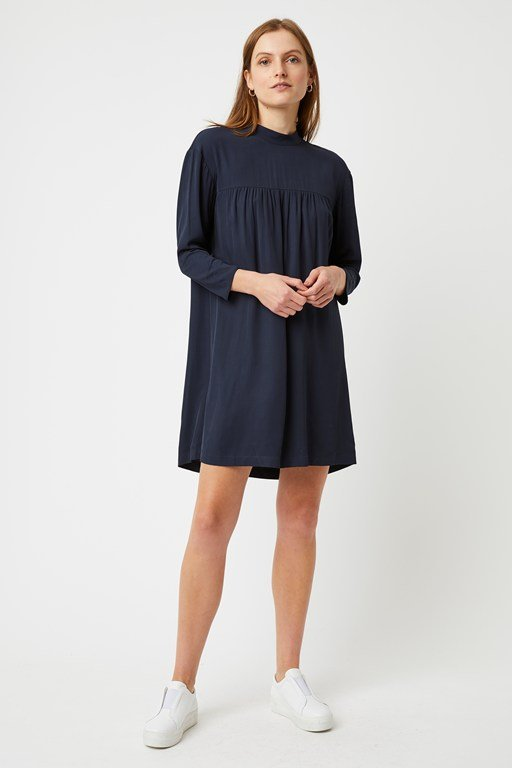lennox long sleeve smock dress