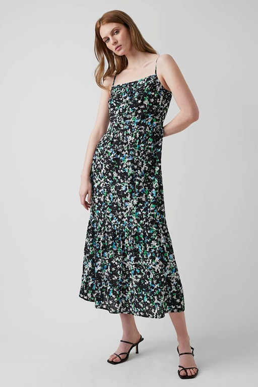 summer meadow midi dress