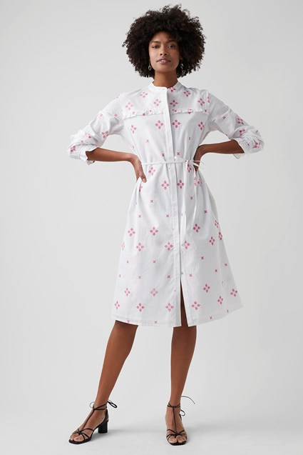 Chintz Cotton Dress