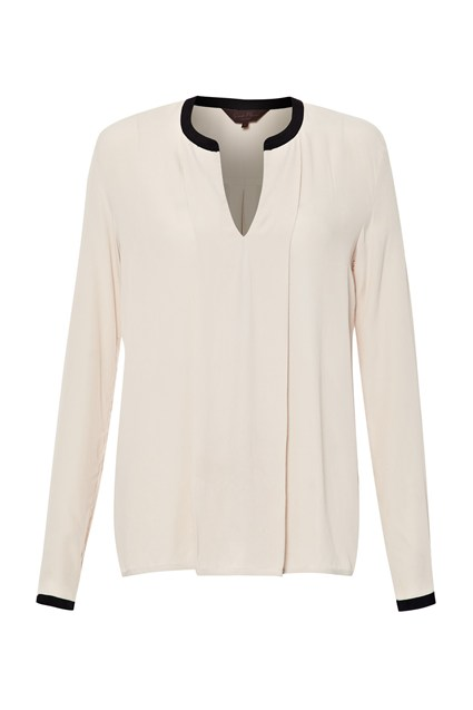 Regent Crepe Panelled Top
