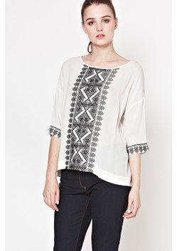Leah Broidrie Embroidered Top