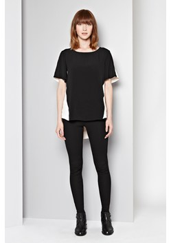 Mayfair Crepe Contrast Top