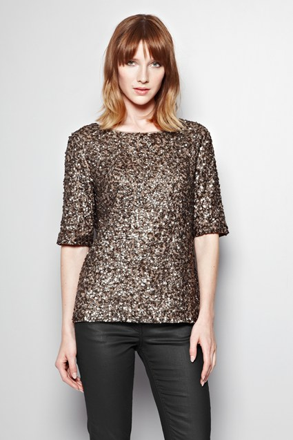 Treasure Hunt Sequinned Top