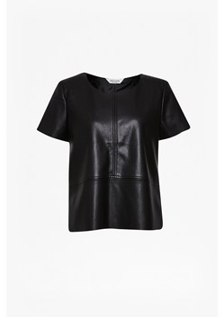 Detroit Faux Leather Top