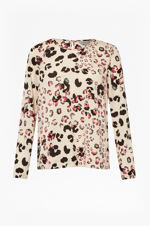 Complete the Look Leopard Kisses Printed Top