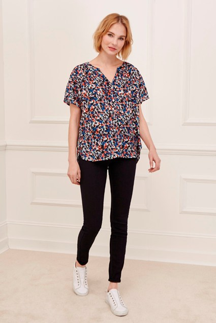 Primrose Hill Button Top