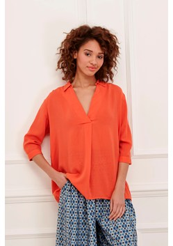 Kezia Shirting Collared Blouse