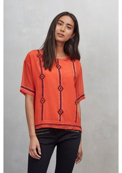 Karla Stitch Boat Neck Top
