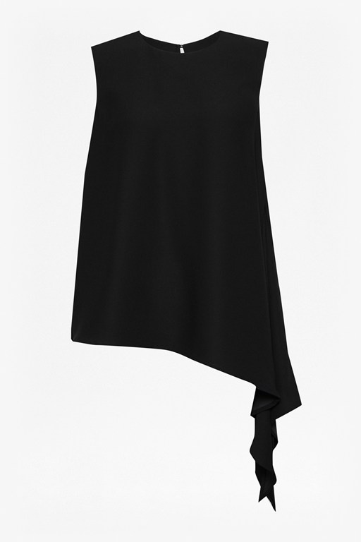 Complete the Look Lola Drape Asymmetric Hem Top