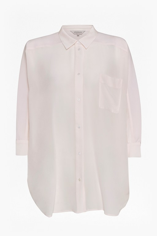 Complete the Look Sophie Silk Batwing Sleeve Oversized Shirt