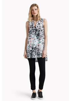 Miquita Marble Printed Sleeveless Tunic