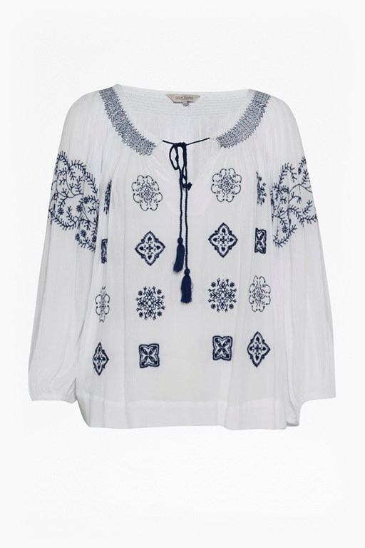 Complete the Look Benicassim Broderie Smock Top
