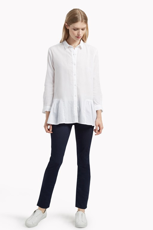 arabel embroidery anglaise shirt