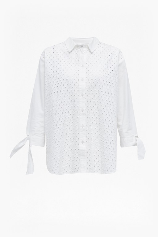 Complete the Look Eliza Embroidery Shirt