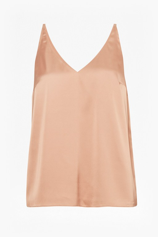 Complete the Look Satin Luxe Vest Top