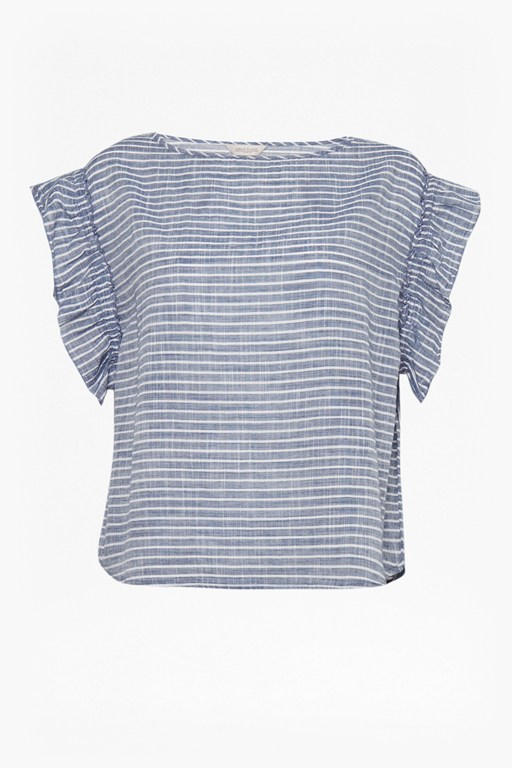 Complete the Look Soft Stripe Blouse