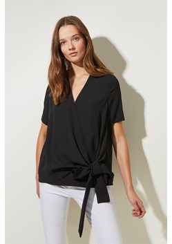 Bow Detail Wrap Top