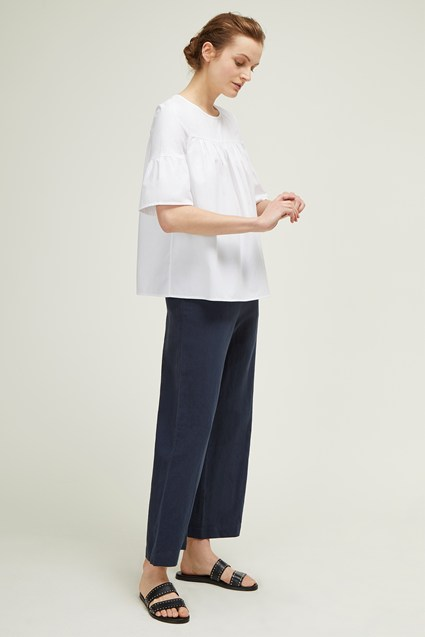 Hampton Cotton Poplin Top