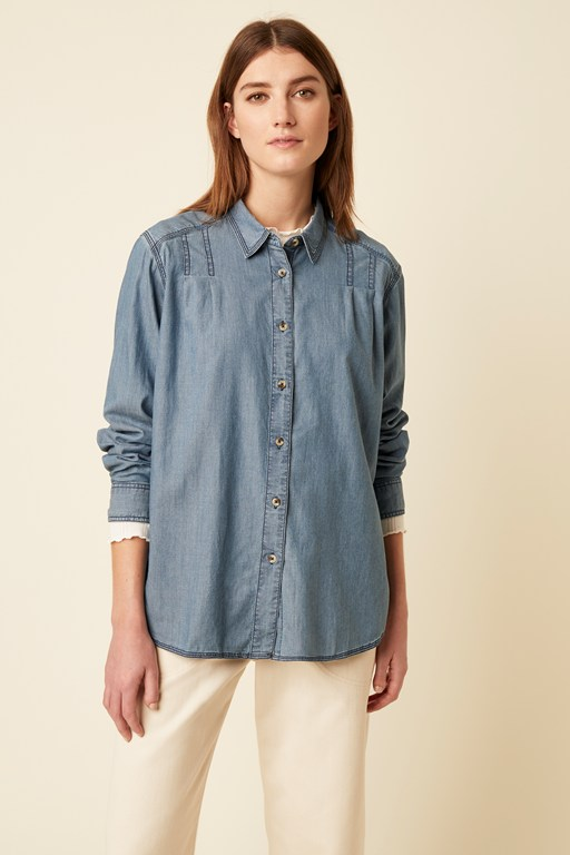 luca denim shirt