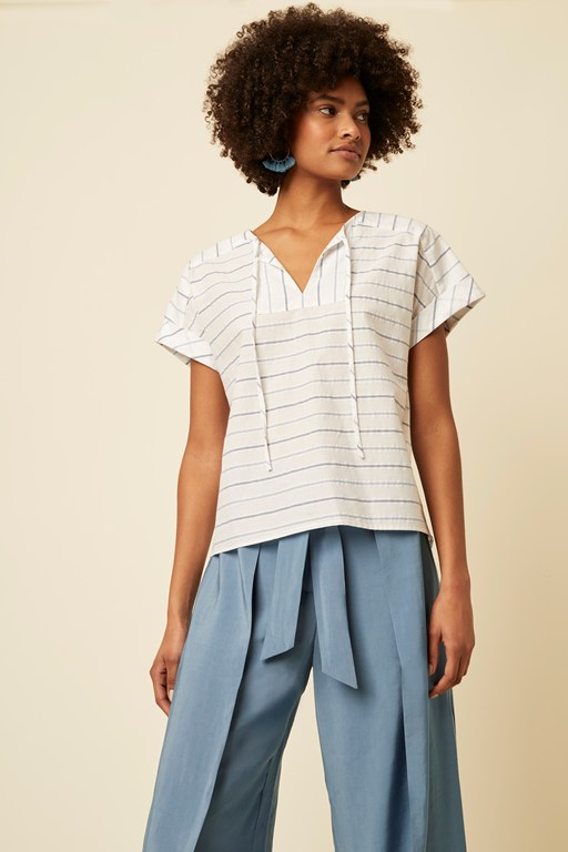 kyra stripe top