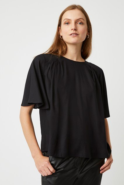 Peppy Short Sleeve Round Neck Top