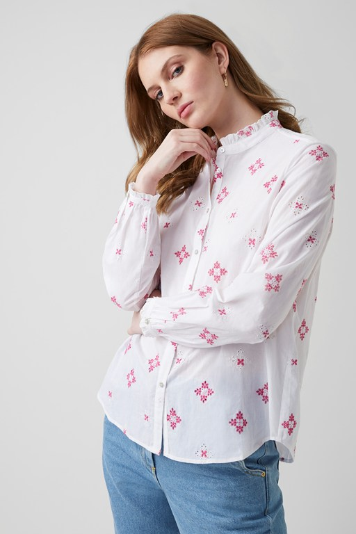 chintz cotton shirt