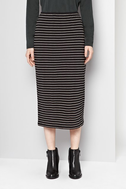 Stanley Stripe Midi Skirt