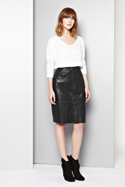 rapture seam pencil skirt
