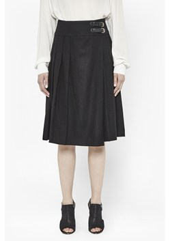 Elly Buckled Wool Skirt