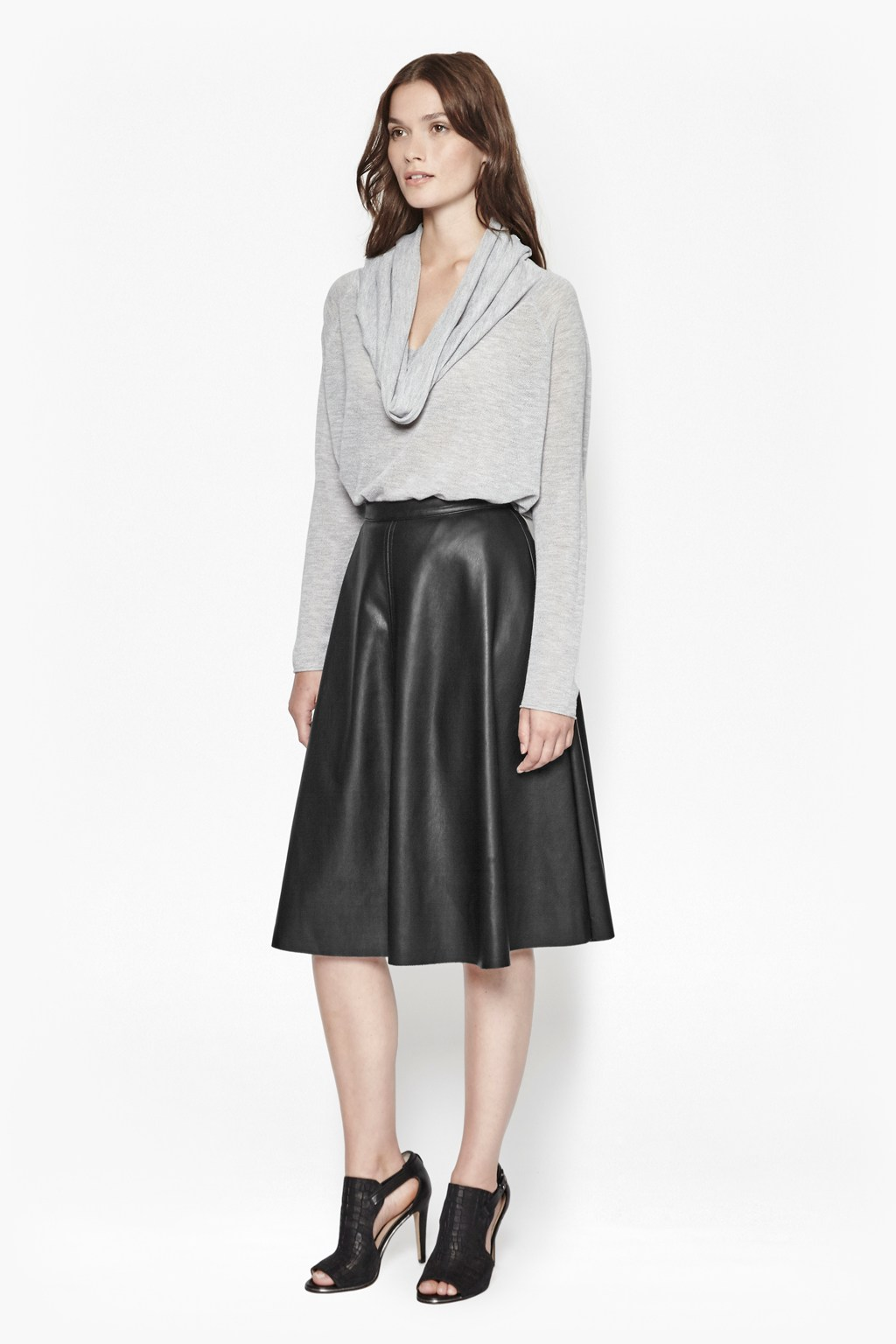 Detroit Faux Leather Skater Skirt | Women | Great Plains
