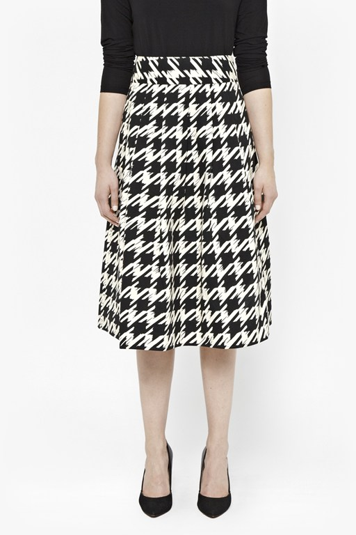 pistol dogtooth full skirt