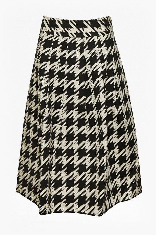 Complete the Look Pistol Dogtooth Full Skirt