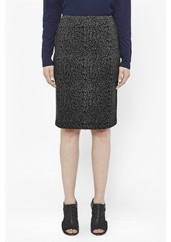 Alphabet Leopard Pencil Skirt