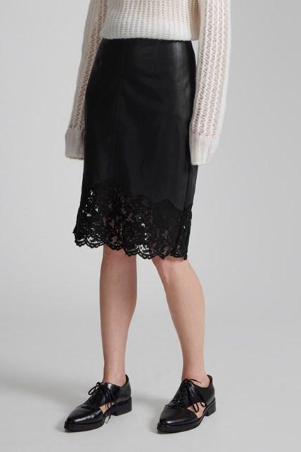 Chicago Lace Hem Skirt