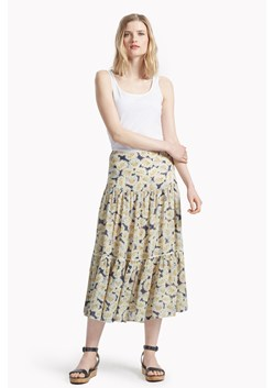 Vintage Bloom Printed Skirt