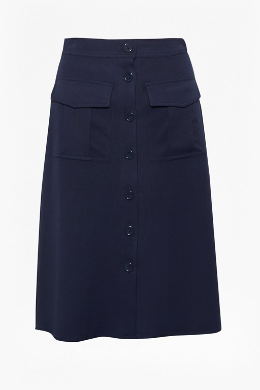 Complete the Look Freya Brushed Suiting Skirt