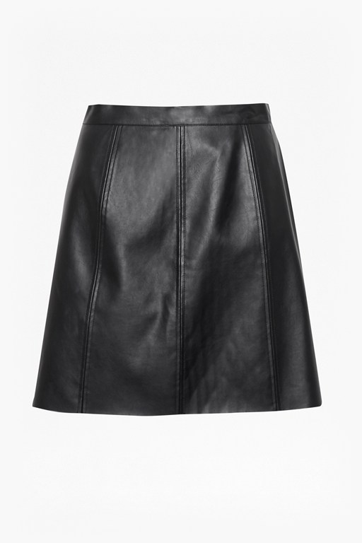 Complete the Look Matilda Pleather Mini Skirt