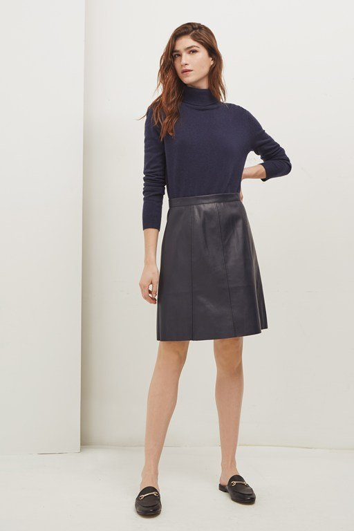 matilda pleather mini skirt